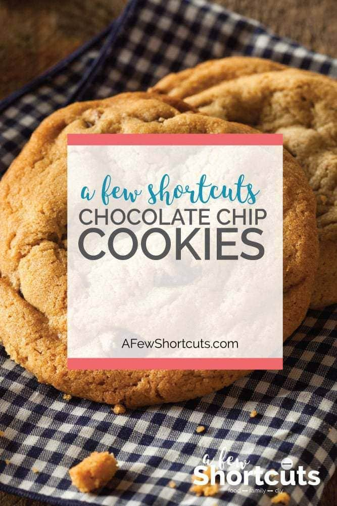 This is one of my favorite recipes for chocolate chip cookies. They turn out perfect every time! Plus there are gluten-free and dairy-free instructions too!