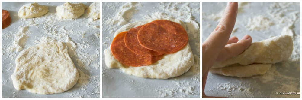 A family favorite! This Pepperoni Rolls Recipe makes a perfect lunch! Make these ahead and freeze for a grab and pack lunch idea!