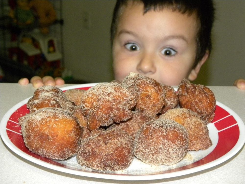 Homemade Donuts with a ShortCut