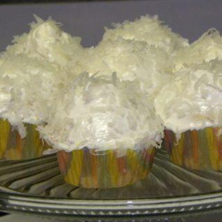 Quick Coconut Cupcakes
