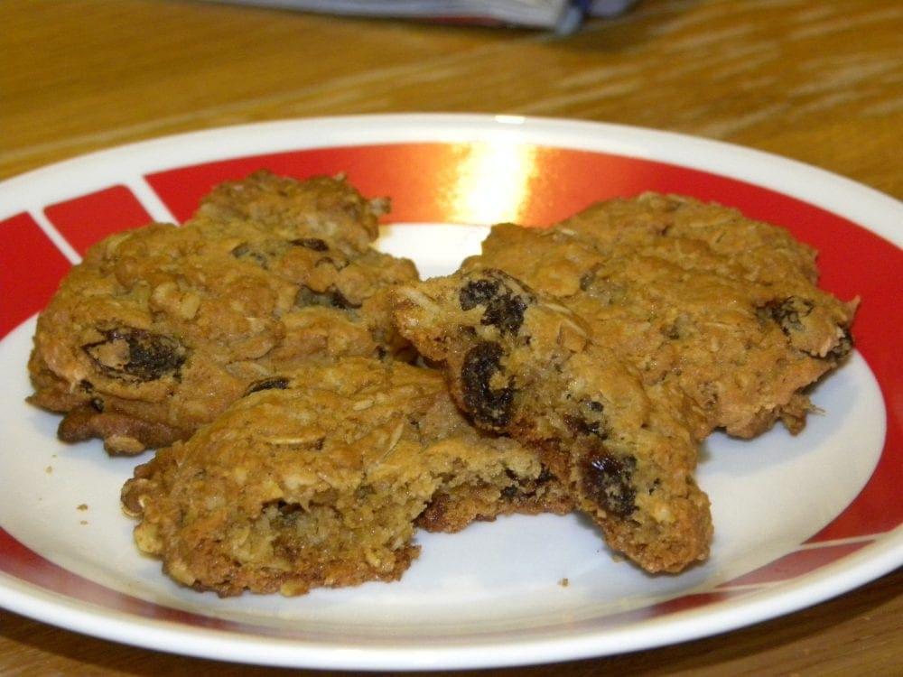 Best Ever Oatmeal Raisin Cookies
