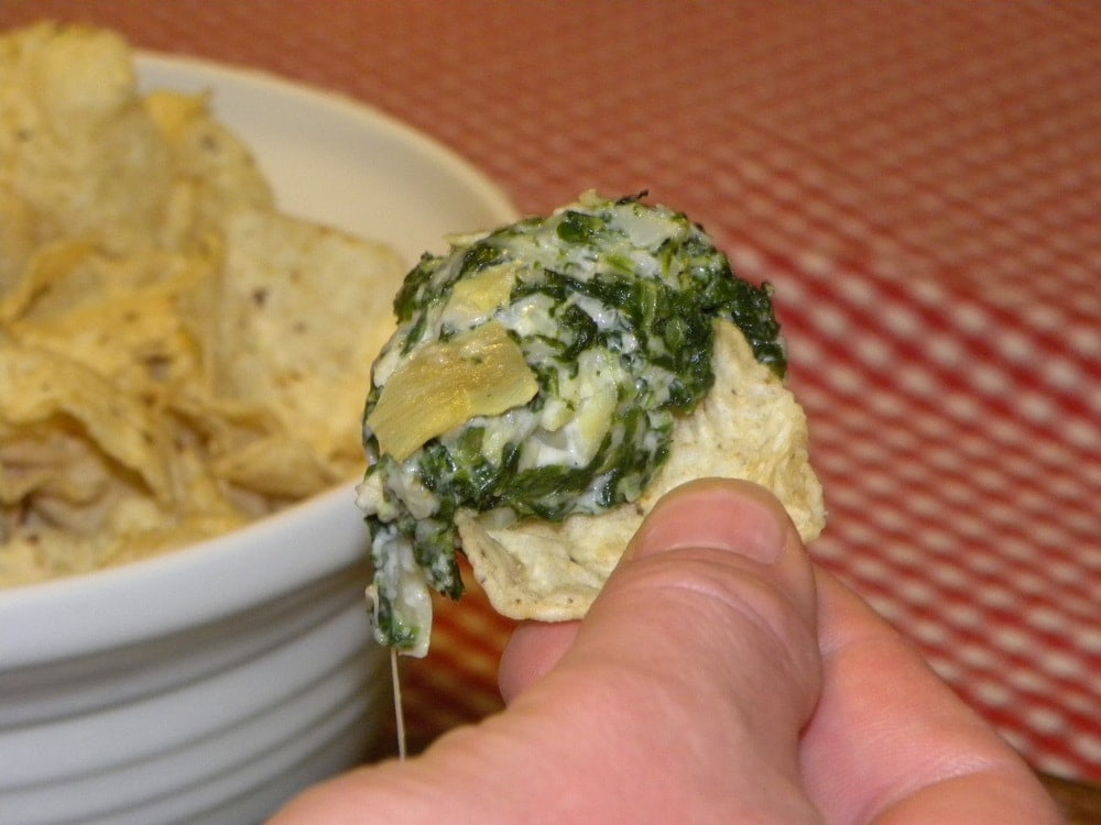 Spinach Artichoke Dip A Few Shortcuts