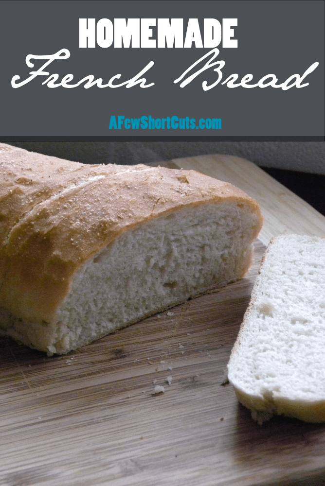 Love freshly baked bread? Make your own simply and frugally with this Homemade French Bread Recipe. Great for any day of the week!