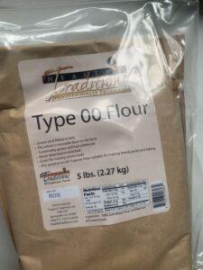 Type 00 flour