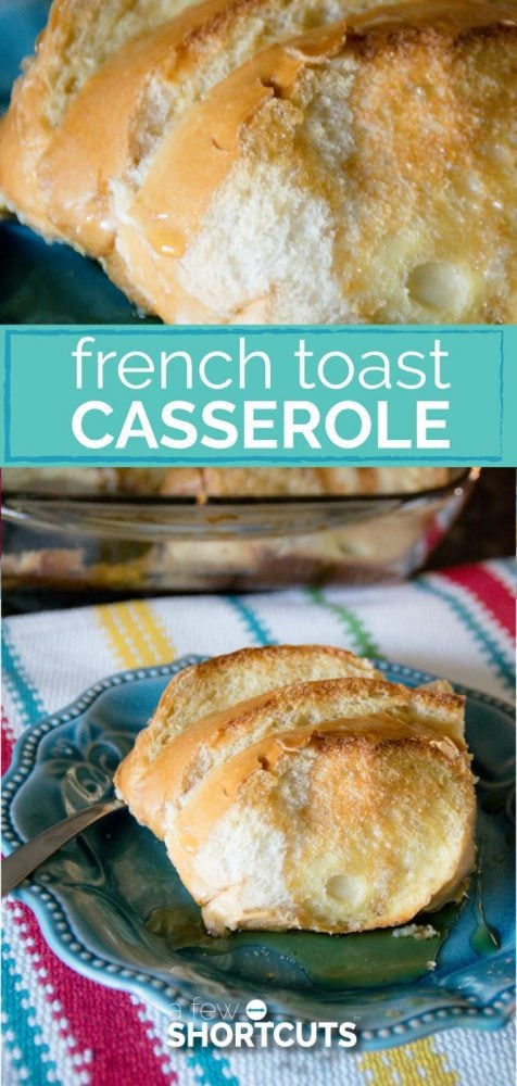 This quick and tasty breakfast is perfect for holidays, brunches, or just everyday! Try this amazing French Toast Casserole Recipe.
