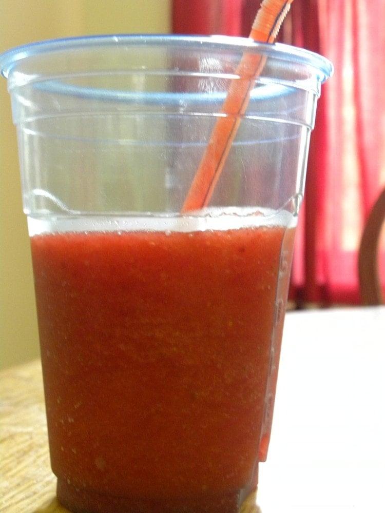 Strawberry Slushes