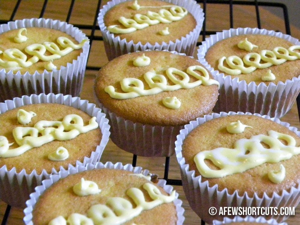 I love this Lemon Creme Cupcakes Recipe because it has all of the love of a homemade treat with the help of store bought ingredients.