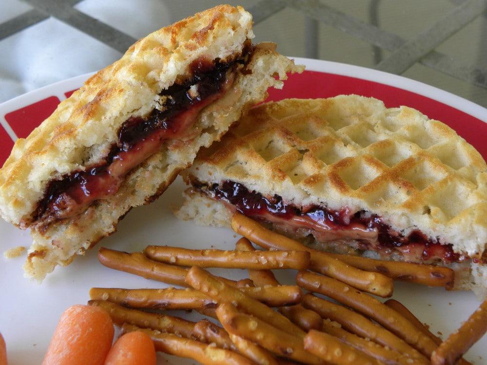 Рецепты вафель для сэндвичницы