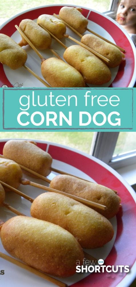 Being gluten-free doesn't mean missing out. This Gluten Free Corndog Recipe is the best ever! You would never know they were gluten free!