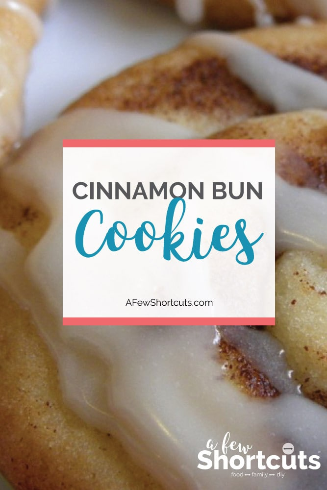 Looking for a fun Christmas cookie! This Cinnamon Bun Cookies Recipe is it! They are super easy to make and so cute on a cookie platter!