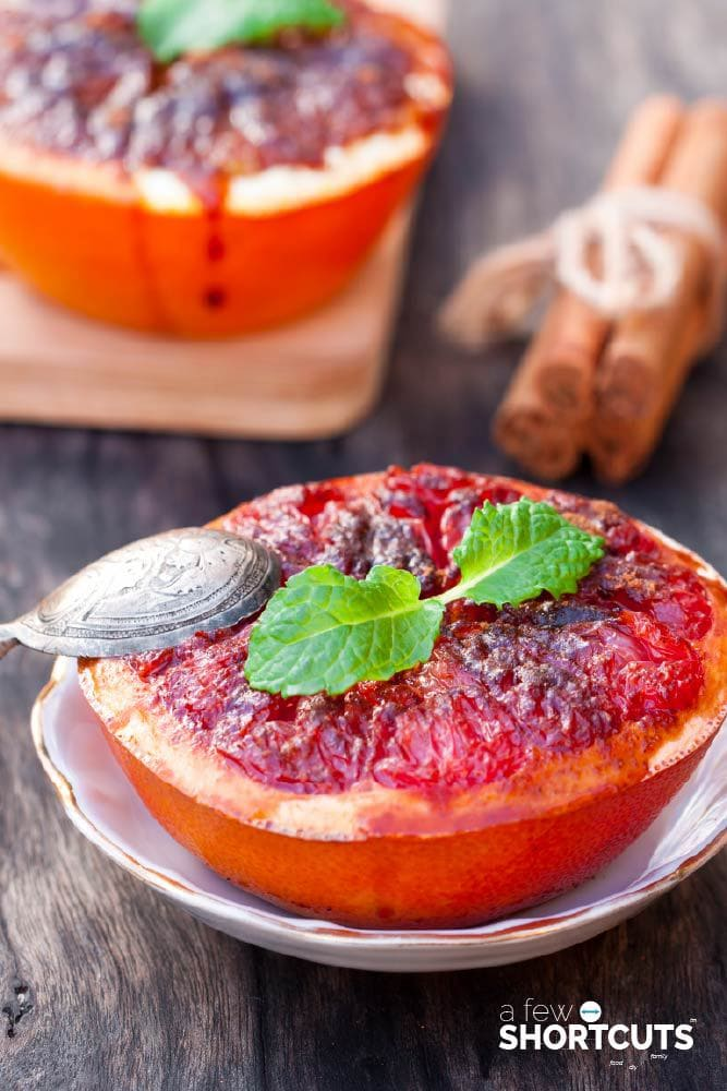 This is perfect for breakfast or brunch and oh so simple! Check out this Broiled Grapefruit Recipe!
