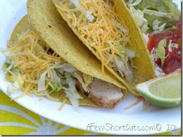 Weekly Meal Deal: Grilled Lime Chicken Tacos