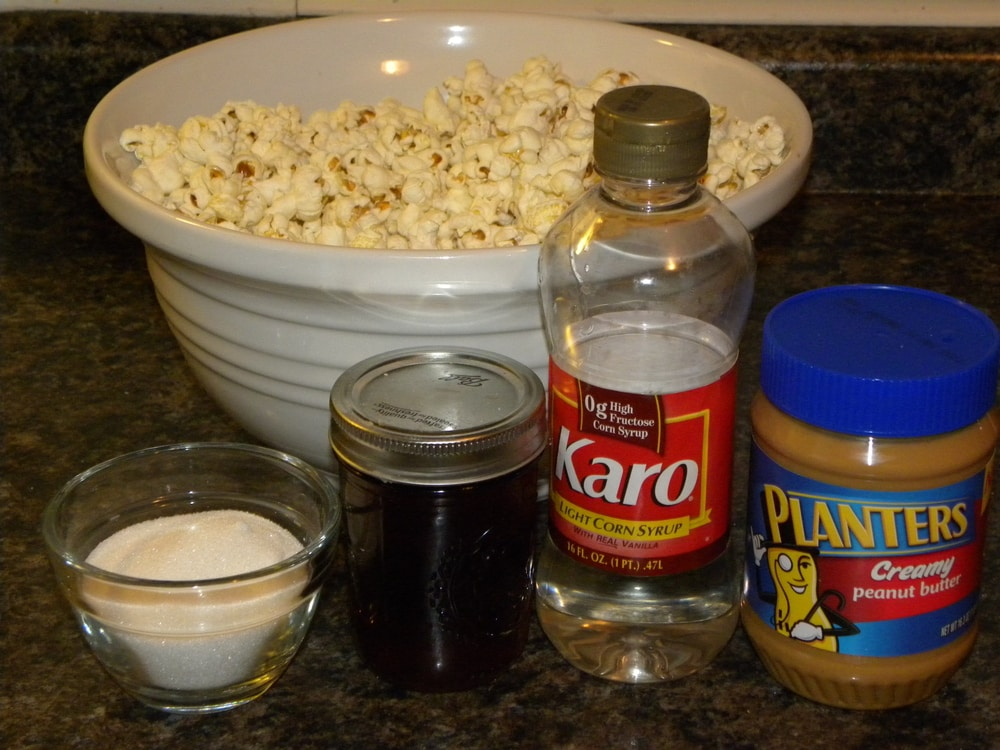 Chocolate Peanut Butter Popcorn - A Few Shortcuts