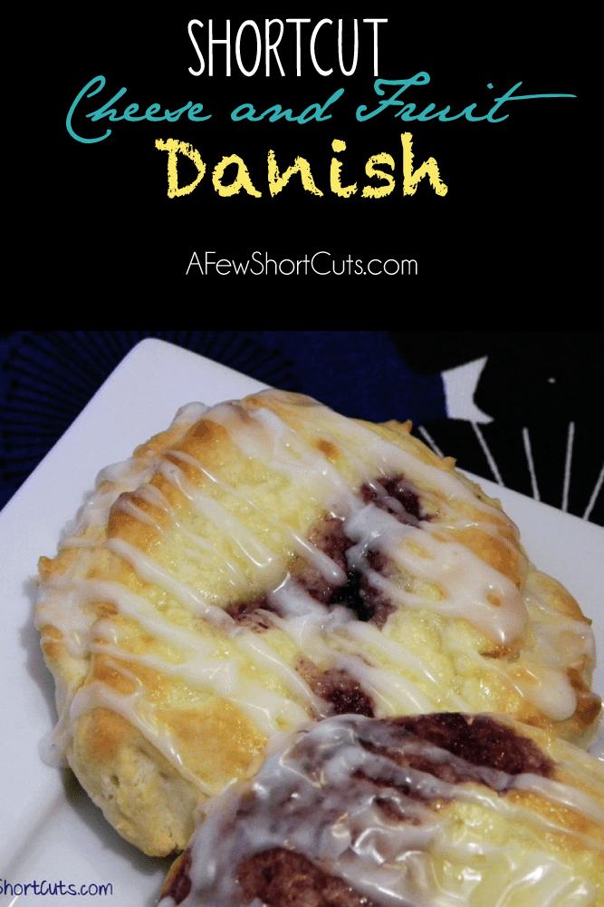 Shortcut Cheese & Fruit Danish