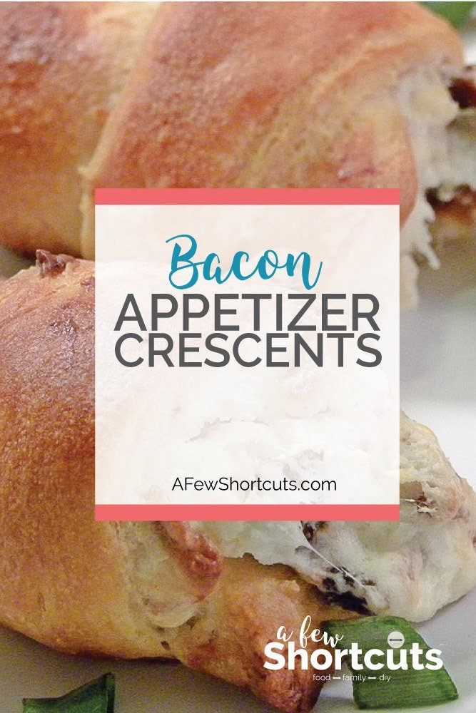 One of the best appetizer recipes! Try these easy and tasty Bacon Appetizer Crescents. They will quickly become a family favorite.