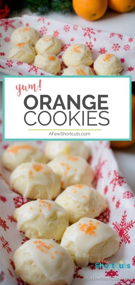 A deliciously refreshing Christmas Cookie recipe. Really these could be made all year long! Try these delicious Orange Cookies this holiday season!