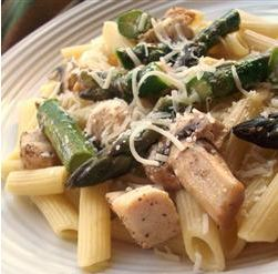 Weekly Meal Deal: Penne with Chicken & Asparagus