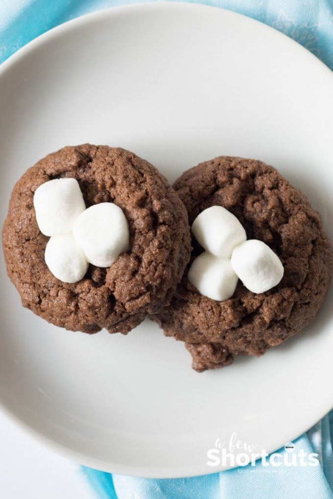Hot Cocoa Cookies Recipe A Few Shortcuts