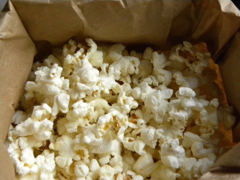 Homemade Microwave Popcorn - A Few Shortcuts