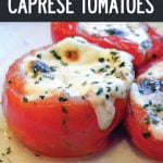 Stuffed-Caprese-Tomatoes