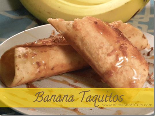 banana taquitos