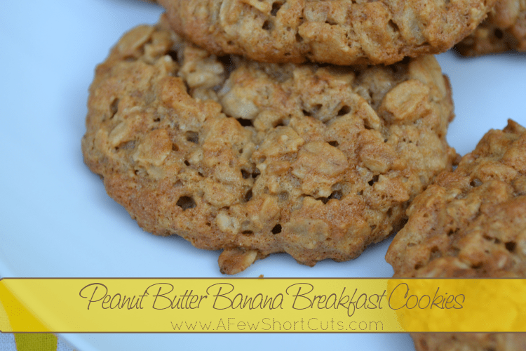 Banana Peanut Butter Cup Cookies Recipe — Dishmaps