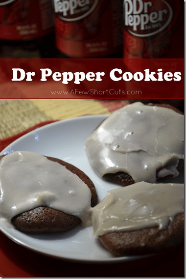 Love Dr. Pepper? Try this fun dessert that will have everyone asking for the recipe! Dr Pepper Cookies. So simple to make!