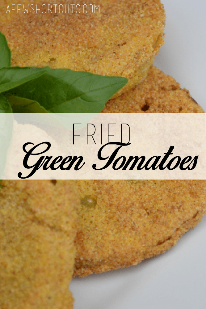 The best Fried Green Tomatoes Recipe around. It is also gluten free! Perfect for those early tomatoes out of your garden!