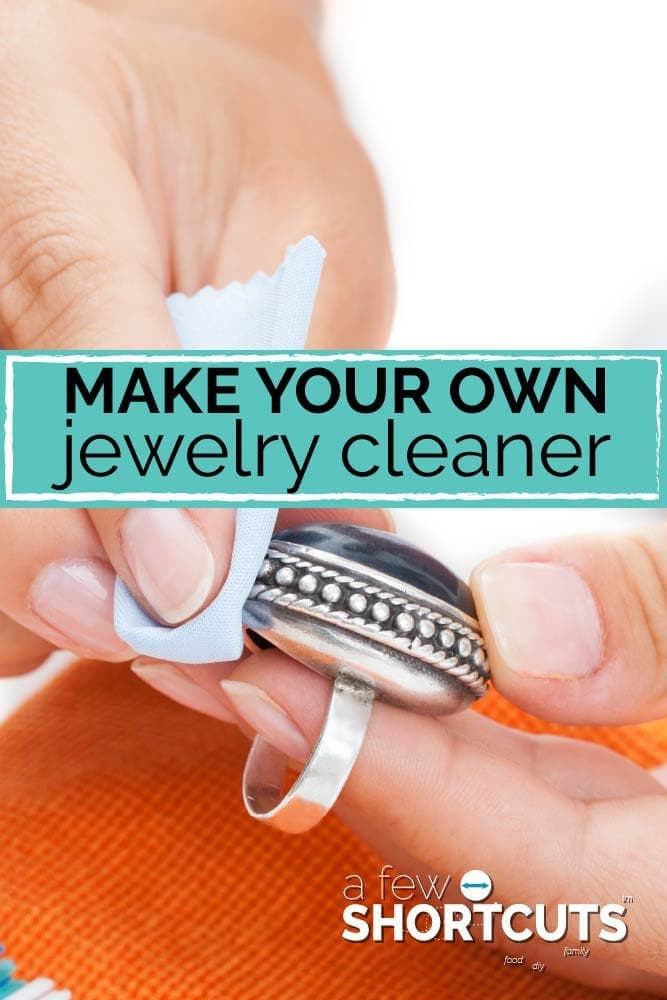 Don't spend a bunch of money on getting your jewelry cleaned. Learn how to make your own jewelry cleaner!