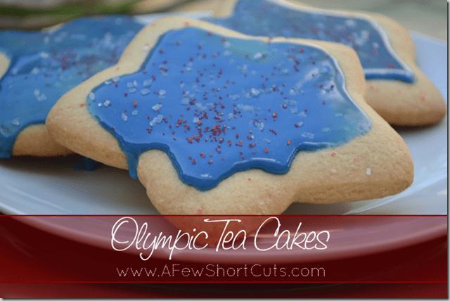 olympic tea cakes