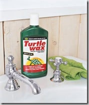 Kitchen Short Cuts: Keep the Sink & Stove Clean with Car Wax