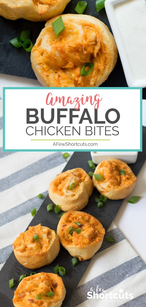 These could be the ultimate manly appetizer! You have to see how delicious and easy this Buffalo Chicken Bites Recipe is for yourself!