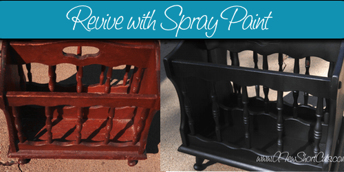 How to Revive Old Items with Spray Paint