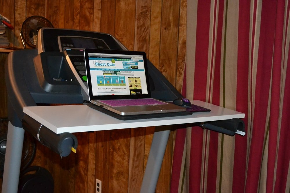 How To Make Your Own Treadmill Desk A Few Shortcuts