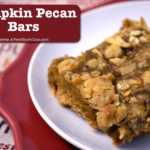 pumpkin pecan bars