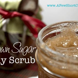 Homemade Christmas: Brown Sugar Body Scrub