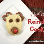 red nosed reineer cookies