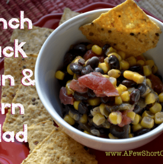 Ranch Black Bean & Corn Salad