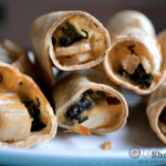 Chicken Spinach Taquitos