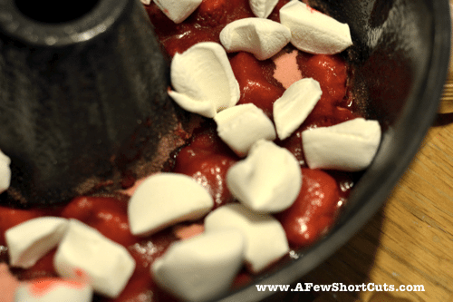 strawberry upside down cake 5
