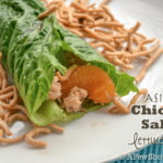 Asian Chicken Salad Lettuce Wrap