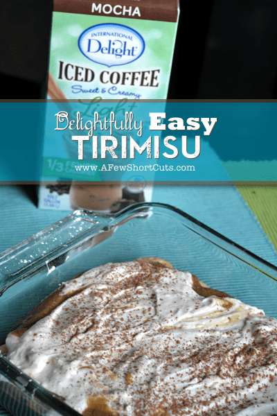 Delightfully Easy Tirimisu