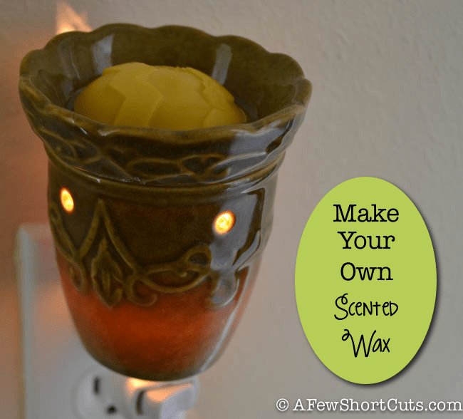 Make your own scented wax melts