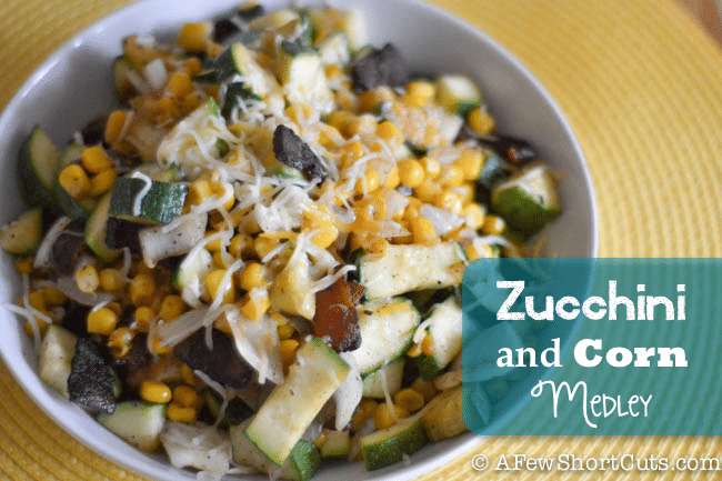 Zucchini and Corn Medley