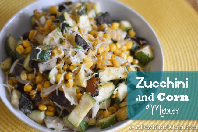 Zucchini and Corn Medley