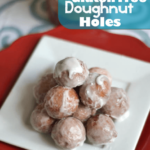 Delightfully Glazed Gluten Free Doughnut Holes