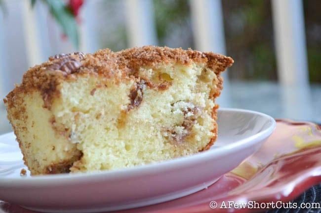 Sour Cream Coffee Cake-5