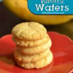 Gluten Free Vanilla Wafers
