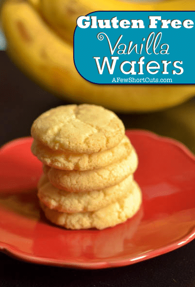 Gluten Free Vanilla Wafers - A Few Shortcuts