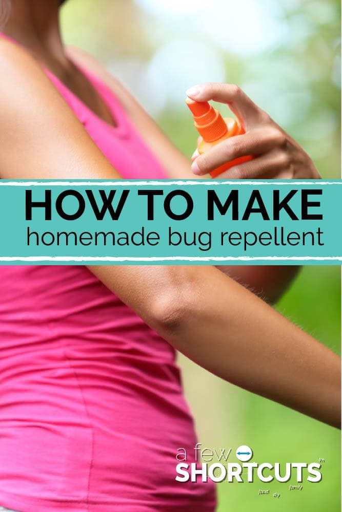 Tired of chemicals, but love to spend time outdoors? Learn How to Make Homemade Bug Repellent with natural ingredients!
